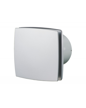 Vents 150 LD Zárt előlappal szerelt dekor ventilátor (alu matt)