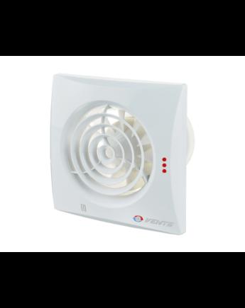 Vents 100 Quiet TH Energiatakarékos Alacsony Zajszintű Ventilátor Páraérzékelővel és Időkapcsolóval