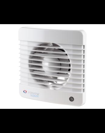 Vents 100 Silenta-MTH Alacsony Zajszintű és Energiafogyasztású Ventilátor Páraérzékelővel és Időkapcsolóval
