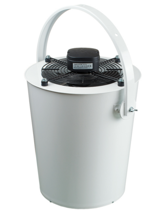 Vents DRF-OV 350 Axiális Ventilátor Műanyag Borítású Acélházban