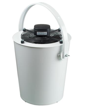Vents DRF-OV 300 Axiális Ventilátor Műanyag Borítású Acélházban