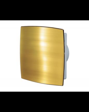 Vents 125 LDTL AUTO Automata zsaluval és zárt előlappal (arany) Időkapcsolóval és Golyóscsapággyal