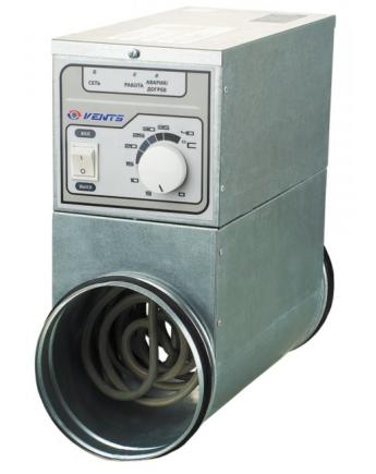 Vents NK 250 U Elektromos Fűtőelem 9000 W 3 Fázisú Beépített Hőmérséklet-szabályozóval (400 V)