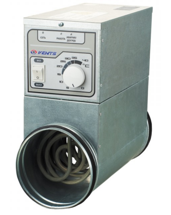 Vents NK 315 U Elektromos Fűtőelem 6000 W 3 Fázisú Beépített Hőmérséklet-szabályozóval (400 V)