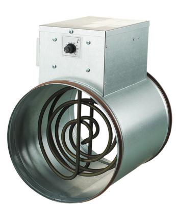 Vents NK 315 U Elektromos Fűtőelem 2400 W 1 Fázisú Beépített Hőmérséklet-szabályozóval