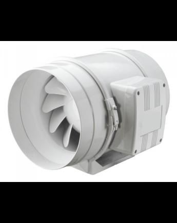 Vents TTs 125 Nagyteljesítményű Ipari Csatornaventilátor Műanyag Házzal Emelt Teljesítményű 2 Fokozatú
