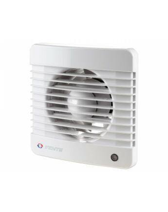 Vents 100 MVTHL Háztartási ventilátor HÚZÓZSINÓRRAL, PÁRAÉRZÉKELŐVEL, GOLYÓSCSAPÁGGYAL ÉS IDŐKAPCSOLÓVAL