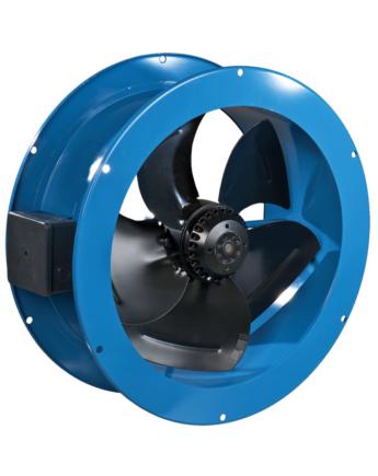 Vents VKF 4E 350 1 Fázisú Peremes Axiál Ventilátor Műanyag Borítású Acélházban