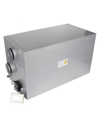 Vents VUT 400 EH EC Hővisszanyerős Légkezelő Egység Elektromos Előfűtéssel
