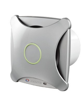 Vents 100 XT Modern Külsejű Dekoratív Ventilátor (alu matt) Időkapcsolóval