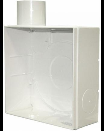Vents KV 80 Falba Süllyeszthető Ház VNV-1 Ventilátorokhoz Műanyag Kivitel