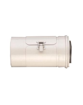 Ariston Egyenes tisztító, alu/alu 80/125 mm