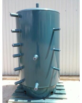 Dunaterm 1000 L Puffertartály hőcserélő nélkül szigeteléssel 2350*800