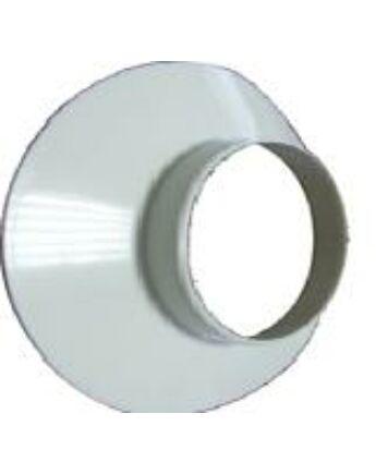 Immergas Takaró gyűrű fali átvezetéshez Ø 100 mm, fehér színben