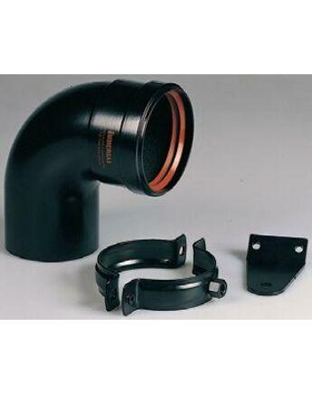 Immergas Ø 80 mm-es induló készlet a kémény bekötéshez