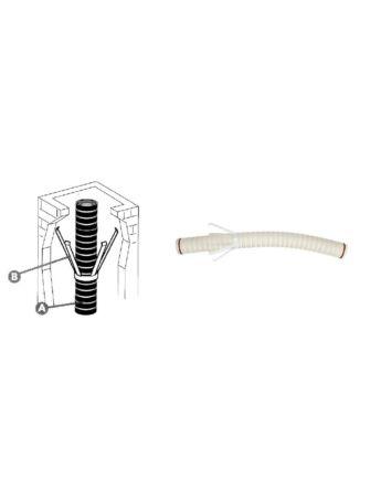Immergas Ø 80 mm-es flexibilis béléscső készlet