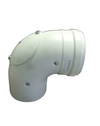 Immergas Ø 60/100 mm-es, könyök idom nyitható vizsgáló nyílással