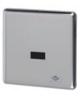Mofém M-Tronic Elektromos süllyesztett vizelde öblítő alkáli elemmel