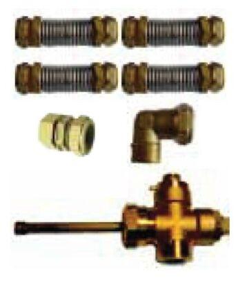 Immergas Csatlakozó készlet 2 darab ES2V/5,23S vagy ES2V/10,41S kollektorhoz