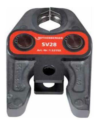 Rothenberger Standard préspofa SV/U kivitel