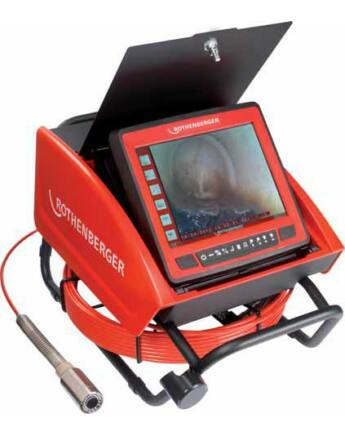 Rothenberger ROCAM 3 Multimedia Vizsgálókamera csövekhez Ø 30 mm
